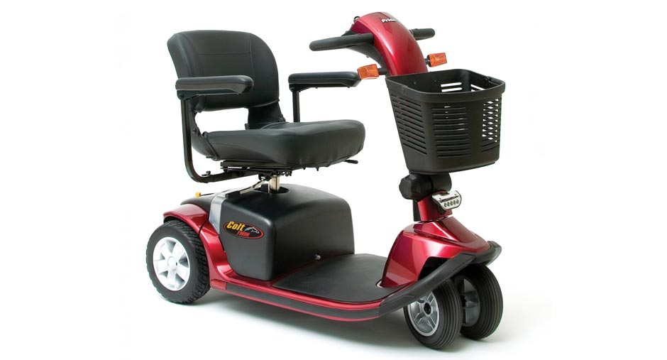 Pride Colt Twin Pavement Mobililty Scooter