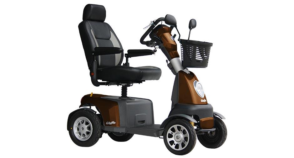van os galaxy plus mobilty scooter