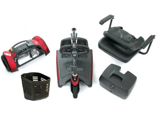 Mobility Scooter Disassembled