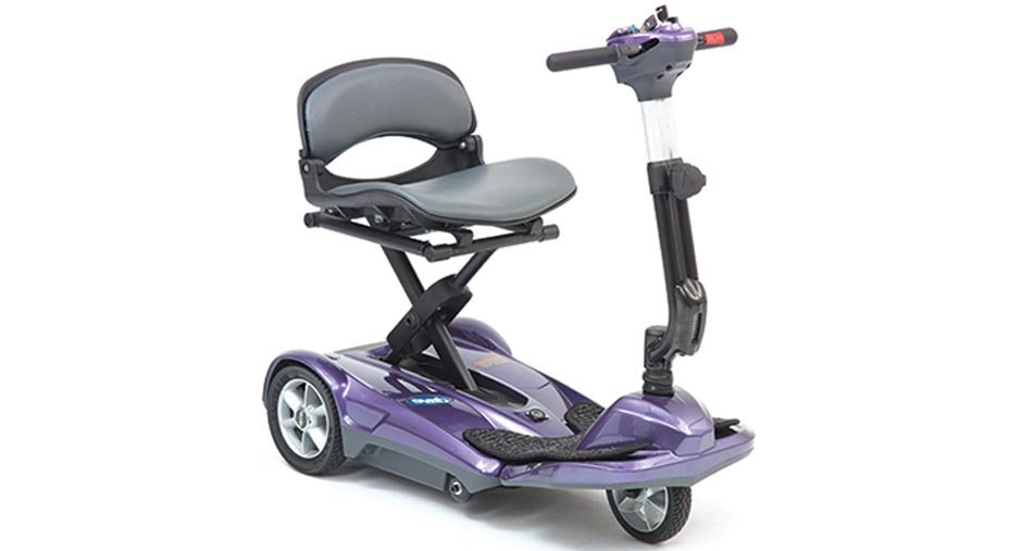 iWhizz Folding Travel Scooter