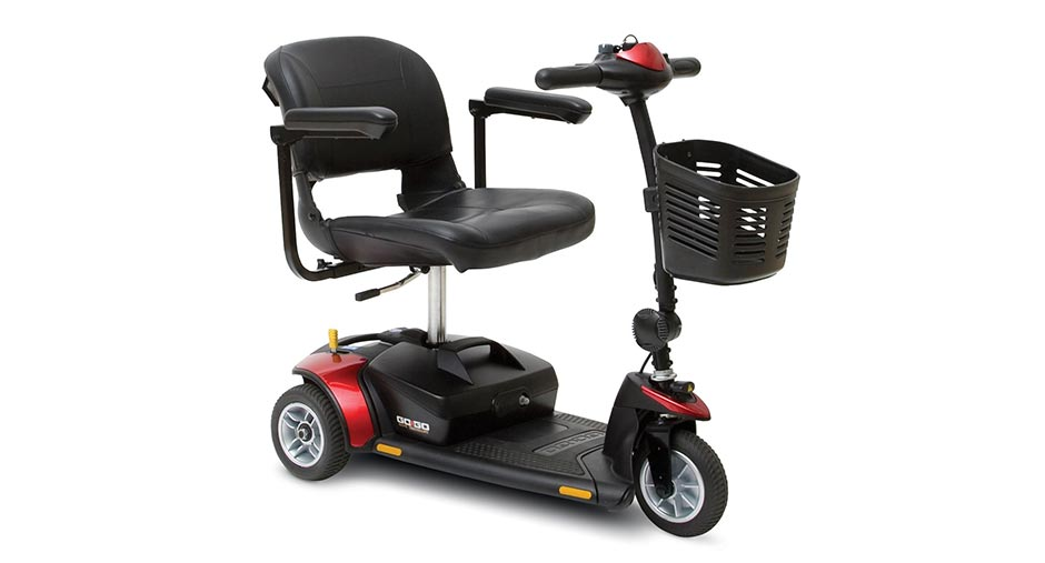 GoGo Elite Traveller 3 Travel Mobility Scooter